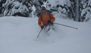 backcountry skiing