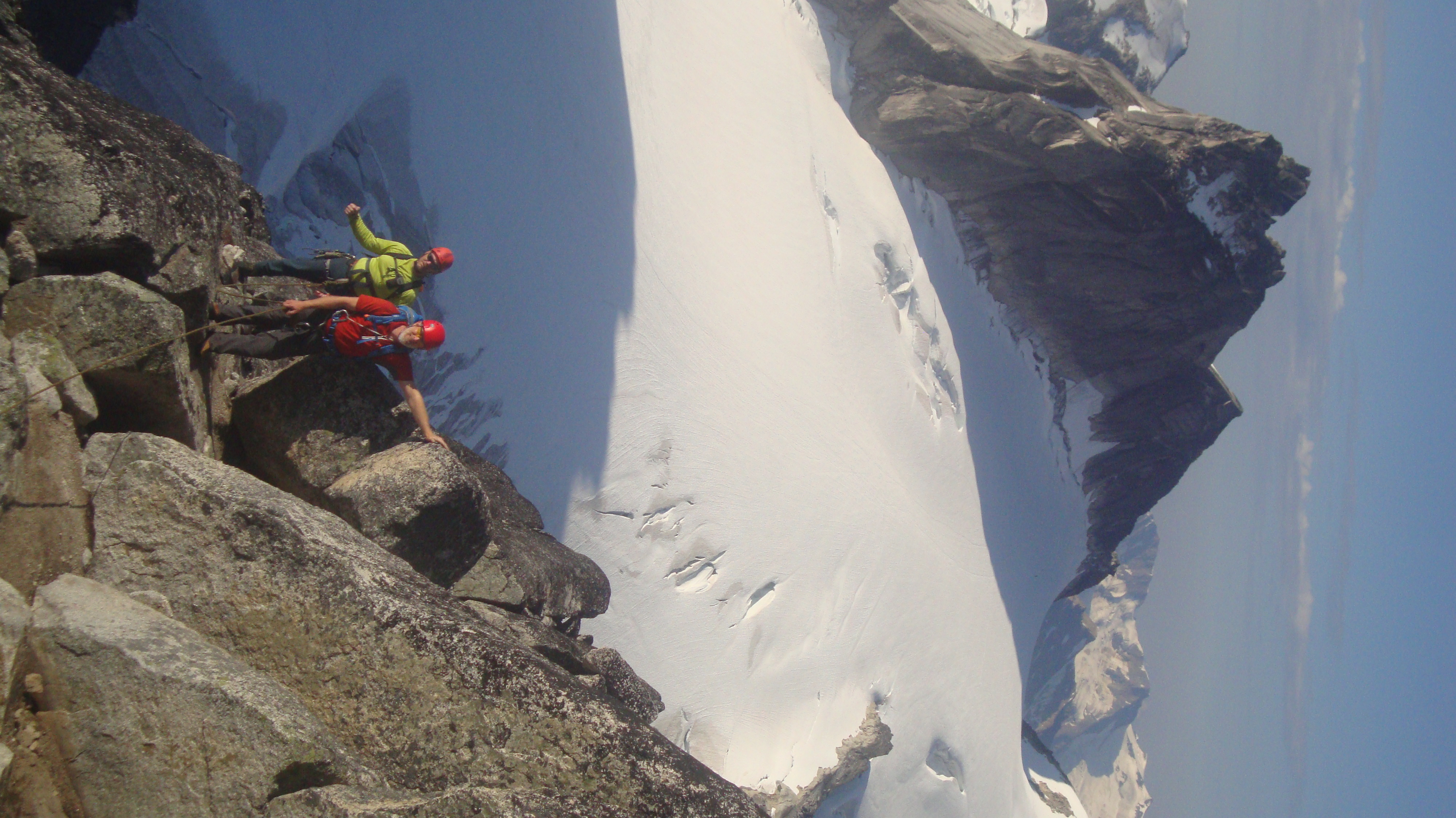 The Kain route Bugaboo Spire