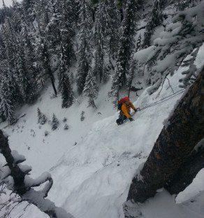 ice climbing Banff